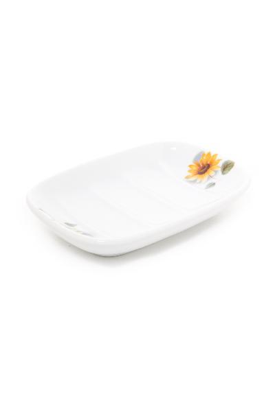 Jabonera de porcelana dona girasol ref 448 abc ba o for Accesorios bano porcelana