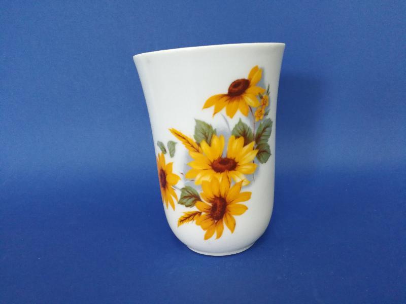 Vaso de porcelana dona girasol ref 449 abc ba o for Accesorios bano porcelana