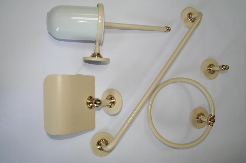 Conjunto accesorios pared 5 piezas ovni vis n ref 492 for Conjunto accesorios bano