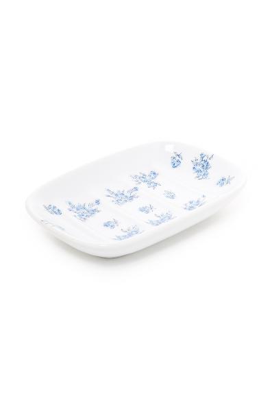 Jabonera de porcelana roma tapiz florecillas ref 5461 for Accesorios bano porcelana
