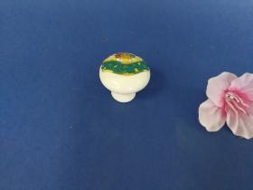 Accesorios baño en latón y porcelana 575 - Tirador mueble
