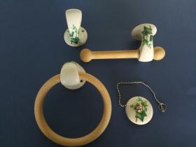 Juego accesorios 4 piezas 1050 - Juego accesorios 4 piezas Venus hiedra