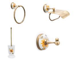 Juego accesorios 4 piezas 50 - Juego accesorios 4 piezas París cuero