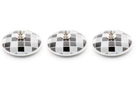 3 tapones porcelana 10924 - Tapón de porcelana 3 unidades gresite negro