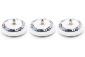 3 tapones porcelana 10934 - Tapón de porcelana 3 unidades lys