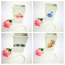 Complementos de baño 501 - Humidificador de porcelana decoraración surtida 4 unidades