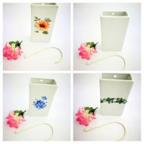 Complementos de baño 5015 - Humidificador de porcelana decoraración surtida 4 unidades