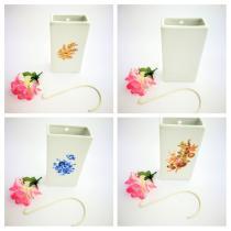 Complementos de baño 5016 - Humidificador de porcelana decoraración surtida 4 unidades