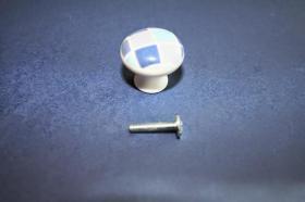 Tiradores de muebles 1223 - Tirador porcelana gresite azul