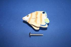 Tiradores de muebles 1188 - Tirador poliéster pez