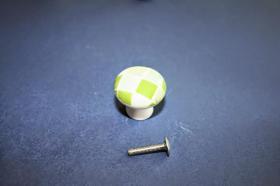 Tiradores de muebles 1222 - Tirador porcelana gresite verde