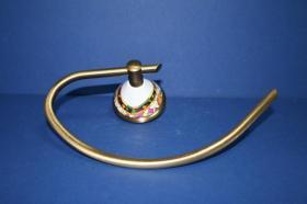 Accesorios baño en latón y porcelana 552 - Anilla lavabo pared Conic