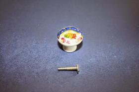 Tiradores de muebles 1225 - Tirador porcelana gaudí azul