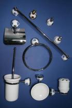 Accesorios de pared Marino  Accesorios baño en latón y porcelana