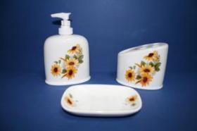 Accesorios encimera Dona  Accesorios baño de encimera en porcelana