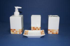 Accesorios encimera Roma  Accesorios baño de encimera en porcelana