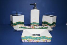 Accesorios encimera Toledo  Accesorios baño de encimera en porcelana
