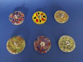 Tapones de cristal ácido  Tapones de lavabo decorados