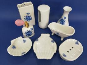 Accesorios encimera Clásico  Accesorios baño de encimera en porcelana